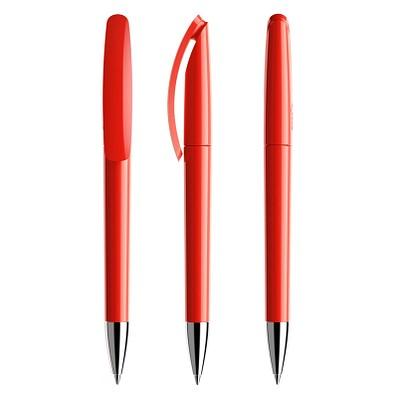 prodir® Drehkugelschreiber DS3.1 TPC Twist, blaue Mine, rot