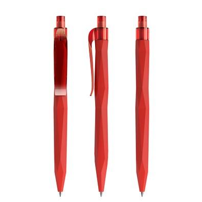 prodir® Kugelschreiber QS20 Soft Touch PRT Push, rot