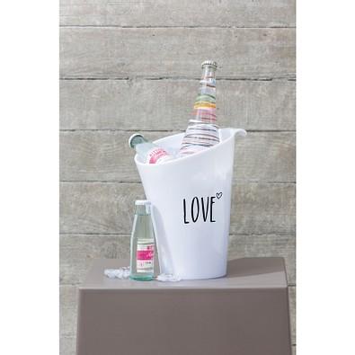 koziol Flaschenkühler Pure, weiß