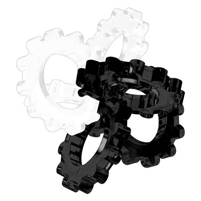Pussycat 3D-Geduldspiel Hexon, schwarz/weiß
