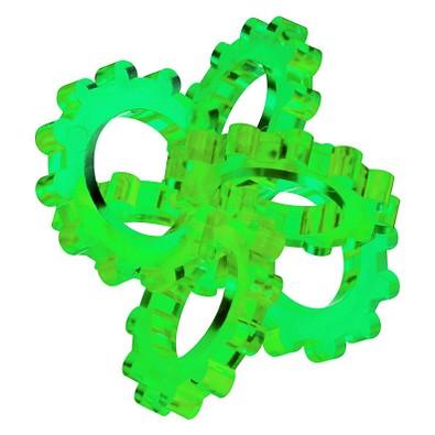 Pussycat 3D-Geduldspiel Hexon, transparent-grün