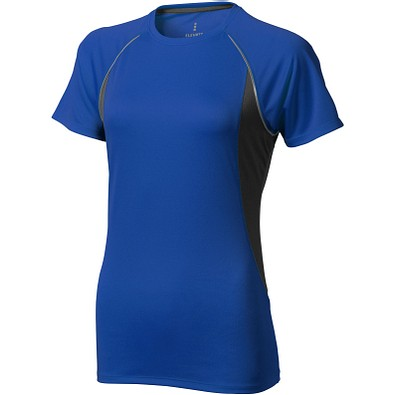 ELEVATE Damen T-Shirt Quebec cool fit, blau,anthrazit, S