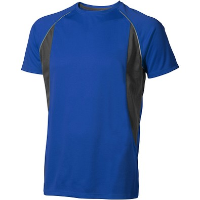 ELEVATE Herren T-Shirt Quebec cool fit, blau,anthrazit, XS