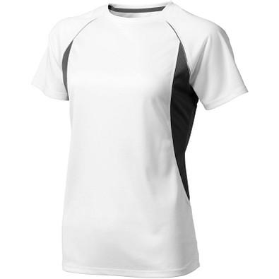ELEVATE Damen T-Shirt Quebec cool fit, weiß,anthrazit, S