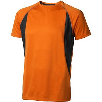 ELEVATE Herren T-Shirt Quebec cool fit, orange,anthrazit, XS