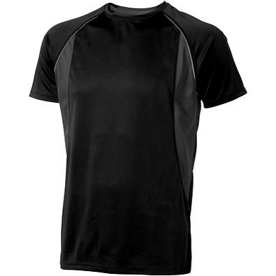 ELEVATE Herren T-Shirt Quebec cool fit, schwarz,anthrazit, XS