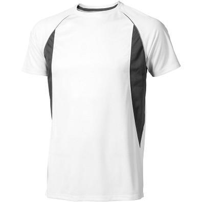 ELEVATE Herren T-Shirt Quebec cool fit, weiß,anthrazit, XS