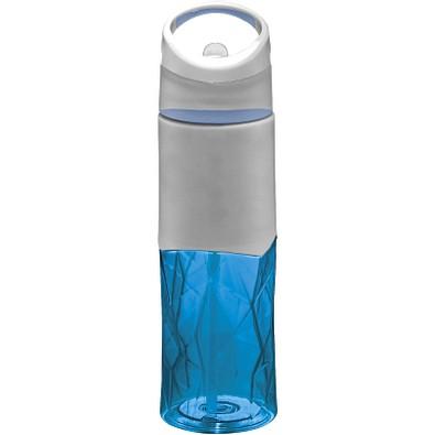 Radius Tritan Geometrische Sportflasche, 830 ml, blau