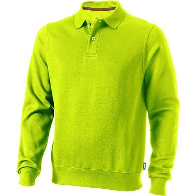 Slazenger™ Unisex Polo Sweatshirt Referee, apfelgrün, XL