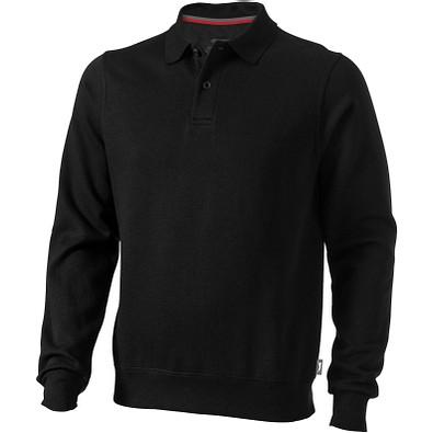 Slazenger™ Unisex Polo Sweatshirt Referee, schwarz, L