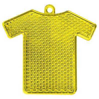 Reflektor Trikot, transparent-gelb