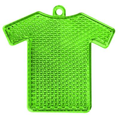 Reflektor Trikot, transparent-grün