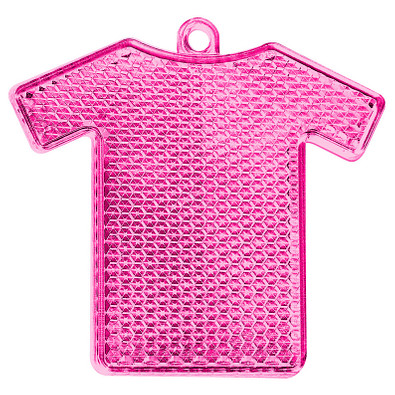 Reflektor Trikot, transparent-pink