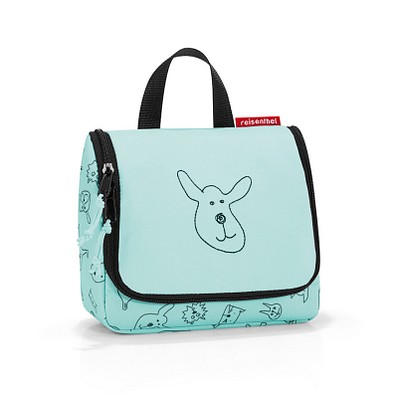 reisenthel® Kulturtasche toiletbag S kids, cats and dogs mint