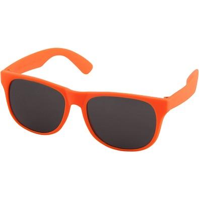 Retro Sonnenbrille, neonorange