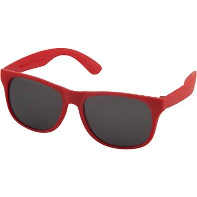 Retro Sonnenbrille, rot