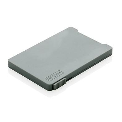 XD COLLECTION RFID Mehrfach-Kartenhalter, grau