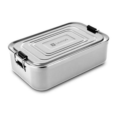 ROMINOX® Lunchbox Quadra XL, silber