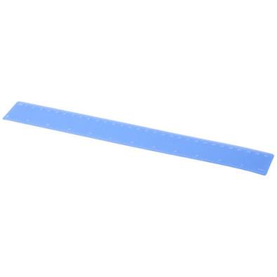 Rothko 30 cm PP Lineal, blau mattiert