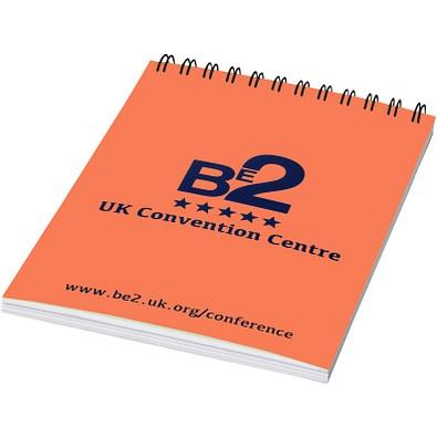 Rothko DIN A6 Notizbuch, orange,schwarz