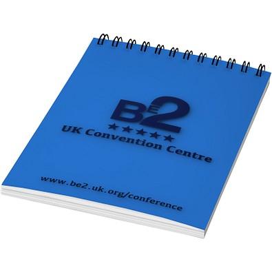 Rothko DIN A7 Notizbuch, blau,schwarz, 50 Blatt