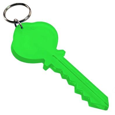 Schlüsselanhänger Key, transparent-grün