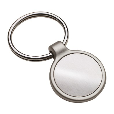 reflects® Schlüsselanhänger Irun Round, silber