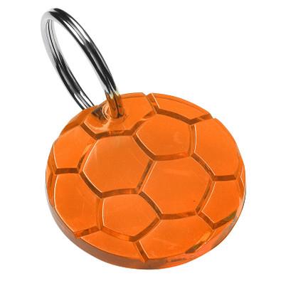 Schlüsselanhänger Rund, trend-orange PS