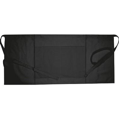 Schürze klein 180g/m² Oeko-Tex® STANDARD 100, schwarz