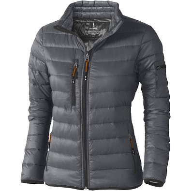 ELEVATE Damen Daunenjacke Scotia, Steel grey, L