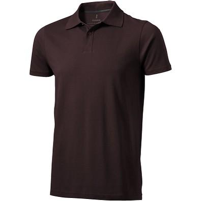 ELEVATE Herren Poloshirt Seller, braun, XXL