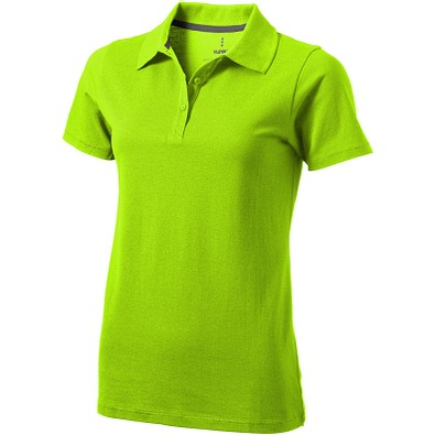 ELEVATE Damen Poloshirt Seller, apfelgrün, XXL