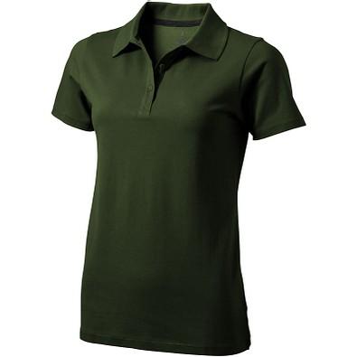 ELEVATE Damen Poloshirt Seller, armeegrün, L