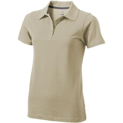 ELEVATE Damen Poloshirt Seller, khaki, L