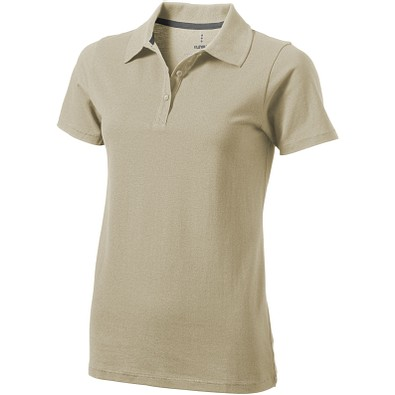 ELEVATE Damen Poloshirt Seller, khaki, S