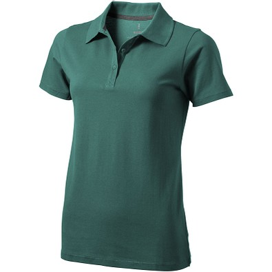 ELEVATE Damen Poloshirt Seller, waldgrün, L