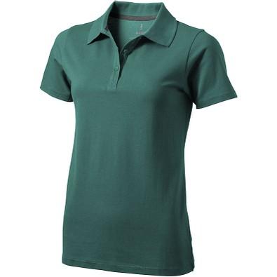 ELEVATE Damen Poloshirt Seller, waldgrün, S