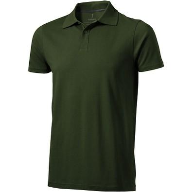 ELEVATE Herren Poloshirt Seller, armeegrün, XL