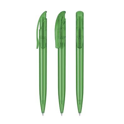 senator® Druckkugelschreiber Challenger Clear, blaue Mine, grün 347