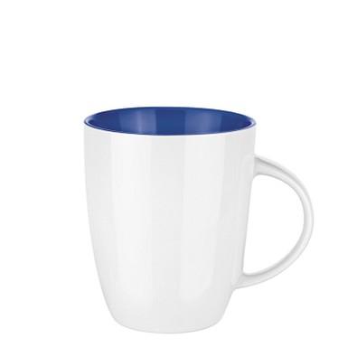 senator® Tasse Elite hochglänzend, 250 ml, weiß/blau