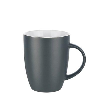senator® Tasse Elite matt, 250 ml, anthrazit/weiß