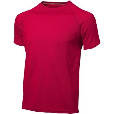 Slazenger™ Herren T-Shirt Serve cool Fit, rot, S