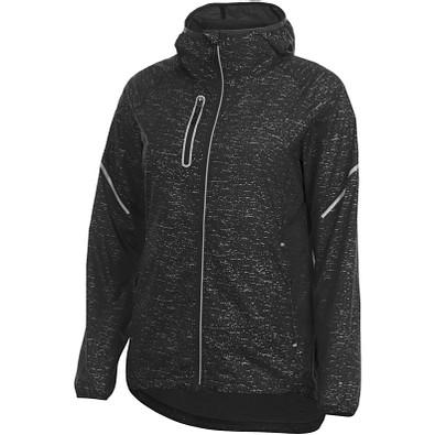 ELEVATE Damen Reflektierende Jacke Signal, schwarz, XL