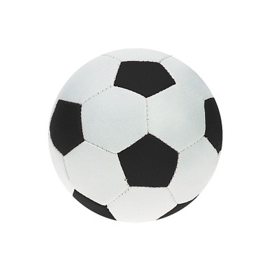 "Softball ""Mini-Fußball"", weiß/schwarz"