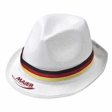 Sommerhut Deutschland, weiß