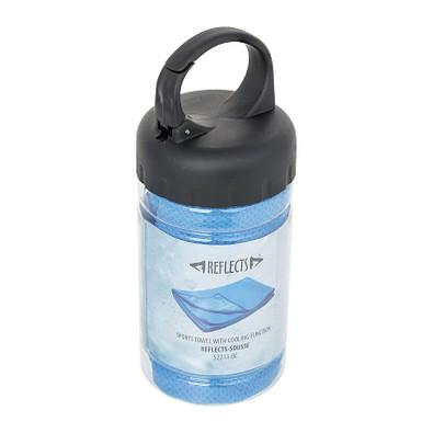 reflects® Sporthandtuch mit Kühlfunktion Sousse, blau