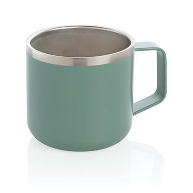 Stainless-Steel Camping-Tasse, 350 ml, grün