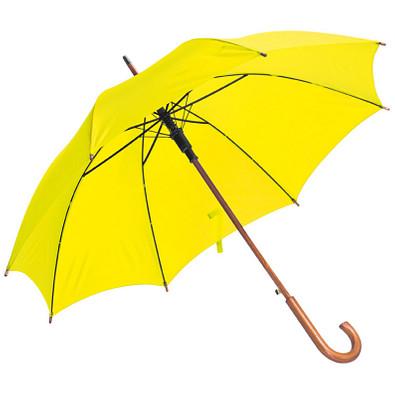 Stockschirm mit automatischer Öffnung, Gelb