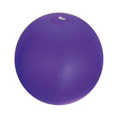 Strandball aus PVC mit einer Segmentlänge von 40 cm, violett