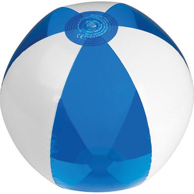 Strandball bicolour, phthalatfrei, blau